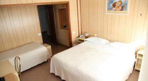Stanza familiare Albergo Nyers hotel a Perugia